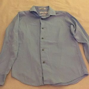 Calvin Klein Boys Long sleeve button up shirt.